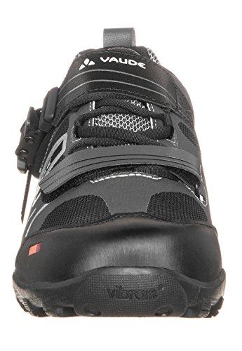 VAUDE Taron Low AM, Unisex-Erwachsene Radsportschuhe – Mountainbike, Schwarz (black 010), 44 EU (9.5 Erwachsene UK)