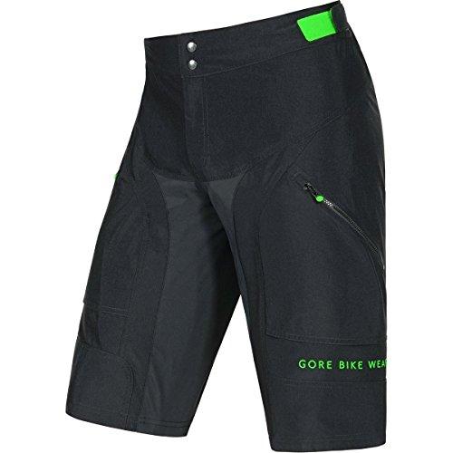 GORE BIKE WEAR Herren Mountainbike-Shorts, Knielang, GORE Selected Fabrics, POWER-TRAIL Shorts, Größe: S, Schwarz, TPOTRO