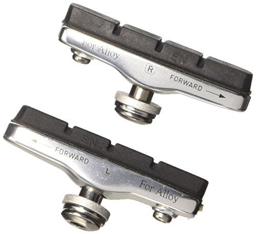 Cartridge-/ Rennrad- Bremsschuhe, silber