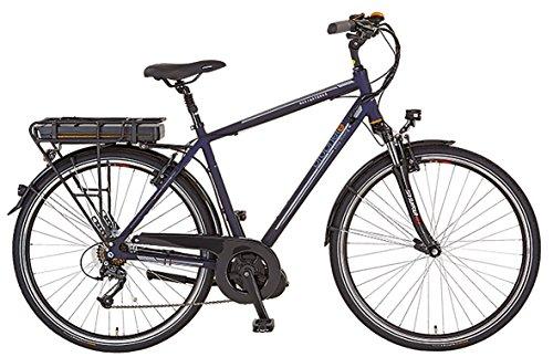 Prophete Herren Elektrofahrrad E-Bike Alu-Trekking 28 Zoll E-Novation Navigator 6.5, nachtblau matt, 52, 51446-0111