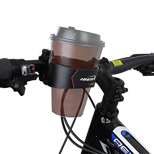 Ibera Fahrrad-Kaffeehalter, Becherhalter, Dosenhalter, Mountain Bike Handlebar Coffee Water Cup Holder Cage