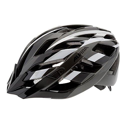 Alpina Unisex Radhelm Panoma, black-titanium-white, 52-57, A9665.1.35