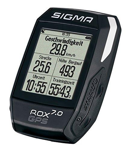 Sigma Rox 7.0 Fahrradcomputer Gps, Schwarz, One Size