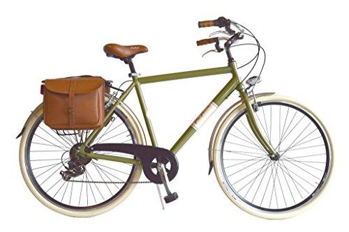 Via Veneto By Canellini Fahrrad Rad Citybike CTB Herren Vintage Retro Via Veneto Alluminium Grun