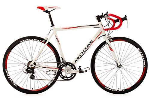 KS Cycling Fahrrad Rennrad Alu Euphoria RH 55 cm, Weiß, 28, 330B