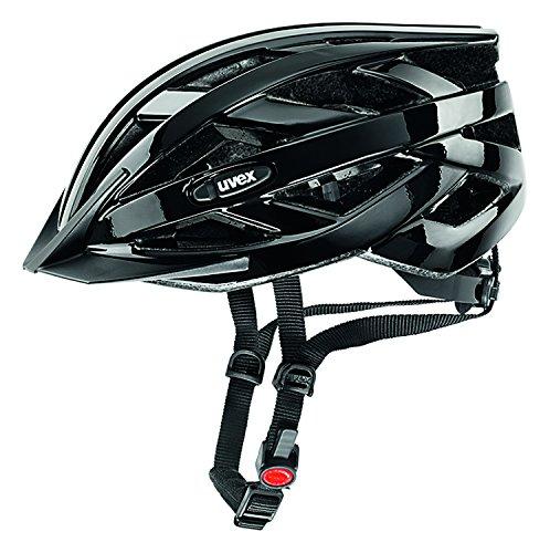 Uvex Unisex Fahrradhelm I-Vo, black, 56-60cm, 4104240217