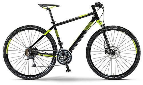 Staiger Idaho Herren-Crossrad 27-Gang Shimano Deore Kettenschaltung schwarz/lime (Rahmenhöhe 56)