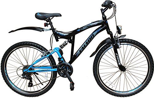 26 zoll mountainbike fahrrad mit vollfederung. Black Bedroom Furniture Sets. Home Design Ideas
