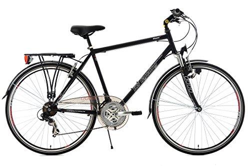 KS Cycling Herren Fahrrad Trekkingrad Vegas RH 53 cm Flachlenker, Schwarz, 28, 101T