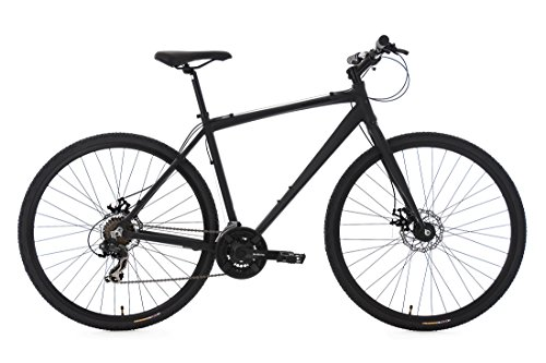 KS Cycling Herren Cityrad Urban-Bike UBN77 Alu-Rahmen RH 51 cm Fahrrad, Schwarz, 28 Zoll