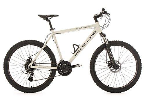 KS Cycling Fahrrad Mountainbike Hardtail MTB GTZ RH 56 cm, weiß, 26 Zoll, 371M