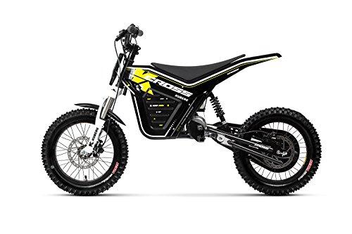 KUBERG Kinder Cross Electric Dirt Bike, Black, M