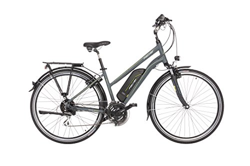 Fischer Damen ETD 1806 E-Bike, anthrazit matt, 28
