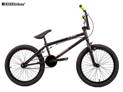 KHE BMX Fahrrad Barcode schwarz 20 Zoll nur 11,3kg!