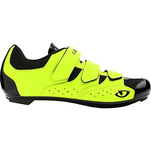 Giro Herren Techne Road Radsportschuhe-Rennrad, Mehrfarbig (Highlight Yellow 000), 43 EU