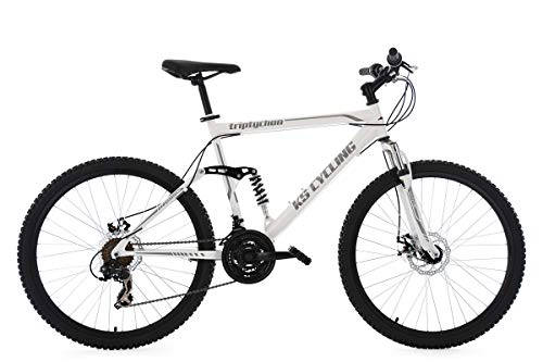 KS Cycling Herren Mountainbike MTB Fully Triptychon 26