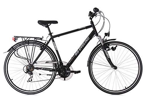 KS Cycling Herren Trekkingrad 28'' Montreal RH 53 cm Fahrrad, schwarz