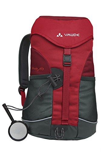 Vaude Unisex – Kinder Rucksack Puck 10, salsa/red, 10 Liter, 15002