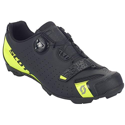 Scott MTB Comp Boa Fahrrad Schuhe schwarz/gelb 2018: Größe: 42