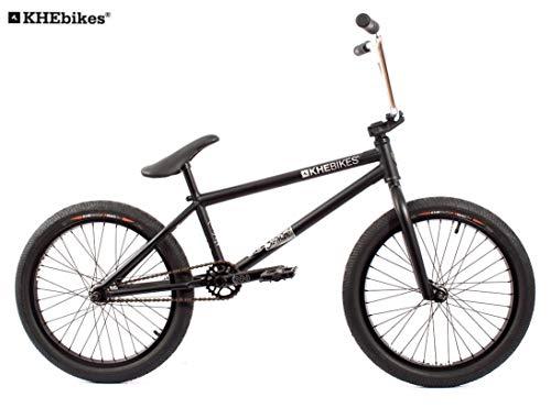 KHE BMX Fahrrad Silencer schwarz 20 Zoll nur 9,8kg!