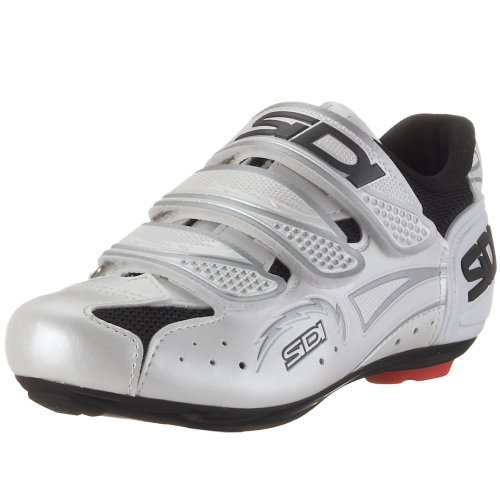 Sidi Zephyr 22030000, Sportschuhe – Radsport, weiss, (schwarz/pearl white), EU 45