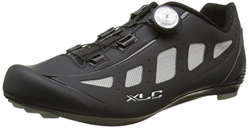 XLC Erwachsene Pro Road Shoes CB R06, Schwarz/Grau, 43, 2500086500