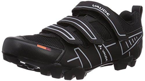 VAUDE Exire Active RC, Unisex-Erwachsene Radsportschuhe – Rennrad, Schwarz (black/silver), 44 EU (9.5 UK)