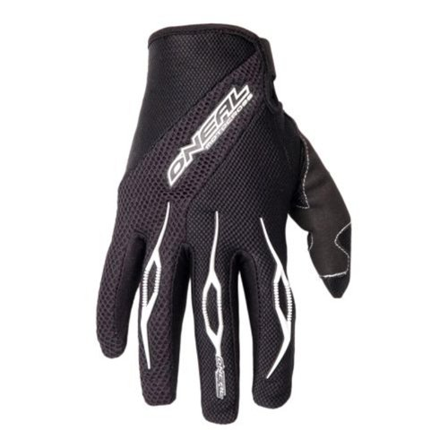 O'Neal Element Glove Handschuhe Schwarz Moto Cross Enduro Downhill Mountain Bike MTB DH, 0398R, Größe Medium