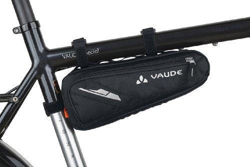 VAUDE Radtasche Cruiser Bag, schwarz, 28 x 13 x 5 cm, 0,5 liters, 10854