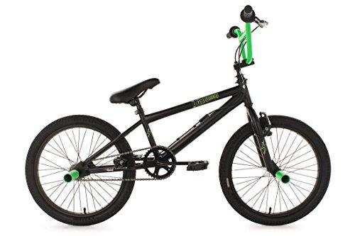 KS Cycling Fahrrad BMX Freestyle Dynamixxx, Grün, 20, 537B