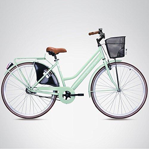 bergsteiger amsterdam 28 zoll damenfahrrad ab 150 cm korb fahrrad licht damen citybike mit. Black Bedroom Furniture Sets. Home Design Ideas