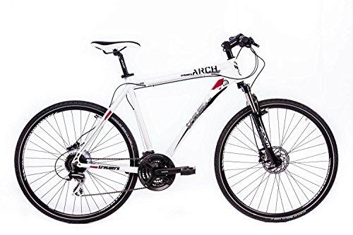 Tretwerk Arch 2.0 28 Zoll Crossbike Weiß (56)