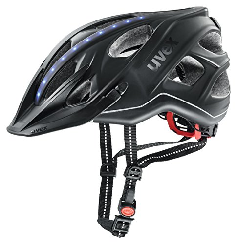 Uvex Fahrradhelm mit LED Licht city light