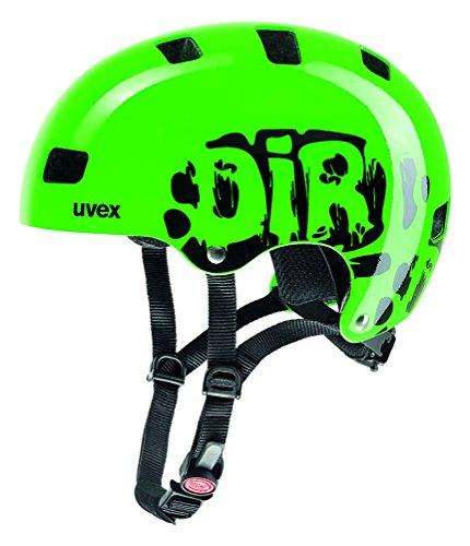Uvex Kinder kid 3 Fahrradhelm, Grün (Dirtbike Green), 51-55 cm