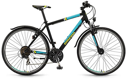 Winora Tonga Herren Crossrad 28' 21-Gang Shimano TX35 , Rahmenhöhen:61;Farben:schwarz/jade matt