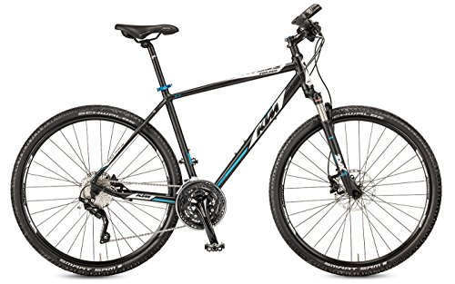 KTM Herren Fahrrad 28 Zoll Crossrad schwarz Sorano Cross – 30 Gänge Kettenschaltung