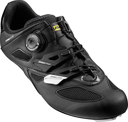Mavic Cosmic Elite Rennrad Fahrrad Schuhe weiß/schwarz 2019: Größe: 44