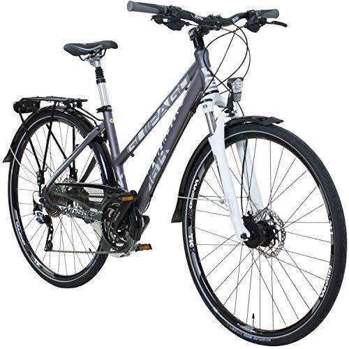 Whistle 28 Zoll Trekkingrad Crossrad Damenrad 30 Gang 44 cm, Rahmengrösse:44 cm