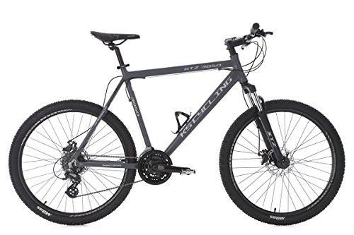 KS Cycling Fahrrad Mountainbike Hardtail MTB GTZ RH 56 cm, anthrazit, 26, 370M