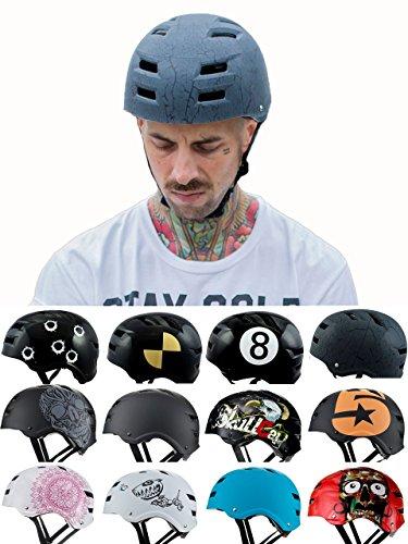 Skullcap® BMX Helm – Skaterhelm – Fahrradhelm – Herren | Damen | Jungs & Kinderhelm Gr. L (58 – 61 cm),