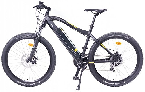 EASYBIKE E-Bike E-MTB Elektofahrrad PEDELEC M3 600 26 Zoll Bereifung 11Ah 396Wh E-Mountainbike Modell 2014 SCHWARZ